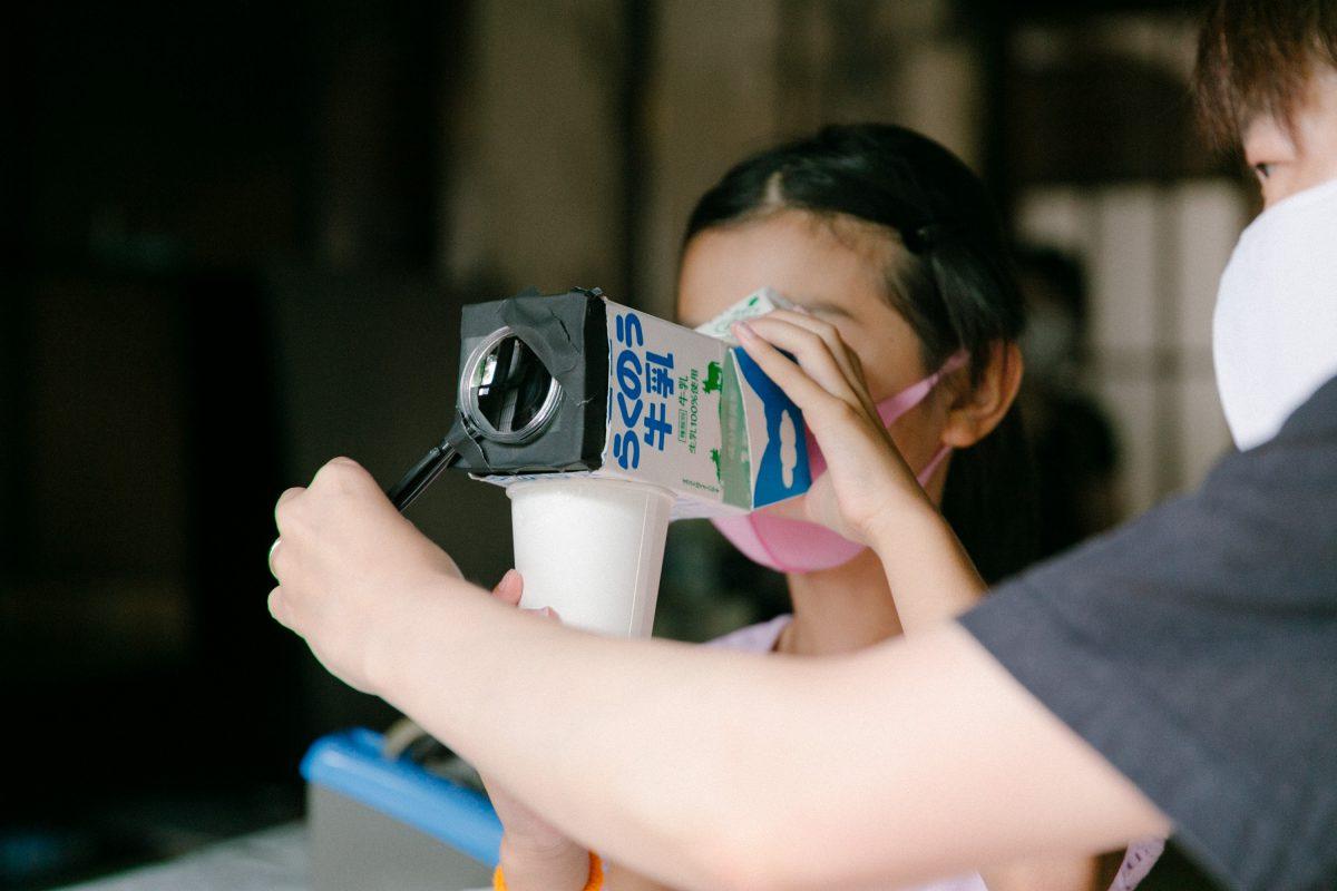 体験の日2020 レポ後編 虫めがねカメラ作り